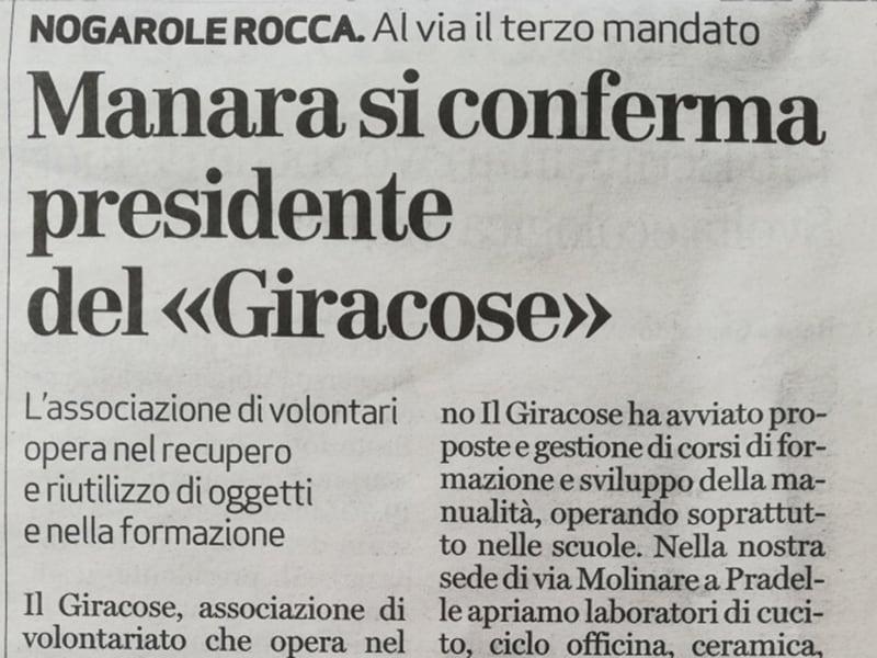 rinnovo consiglio direttivo il Giracose
